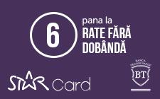 6 rate egale fara dobanda prin StarBT