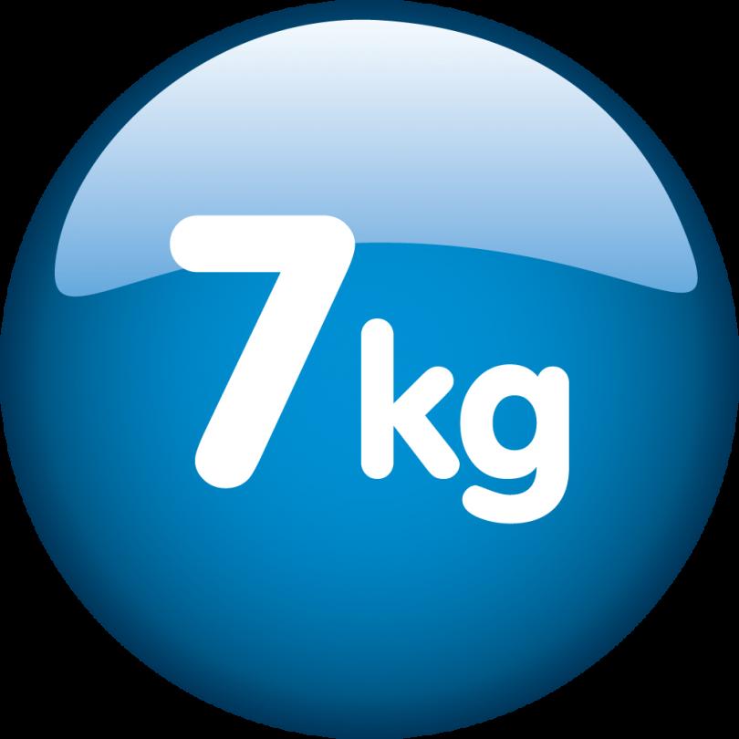Capacitate de incarcare 7 kg
