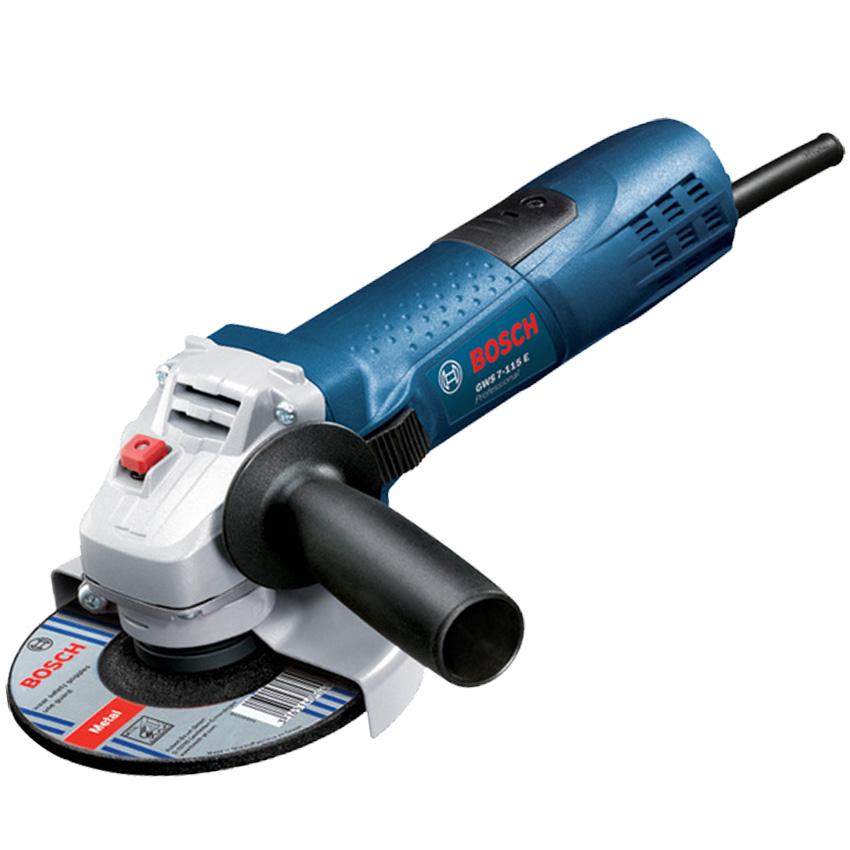 BOSCH GWS 7-115 E Professional Polizor unghiular 720 W diametru disc 115 0601388201
