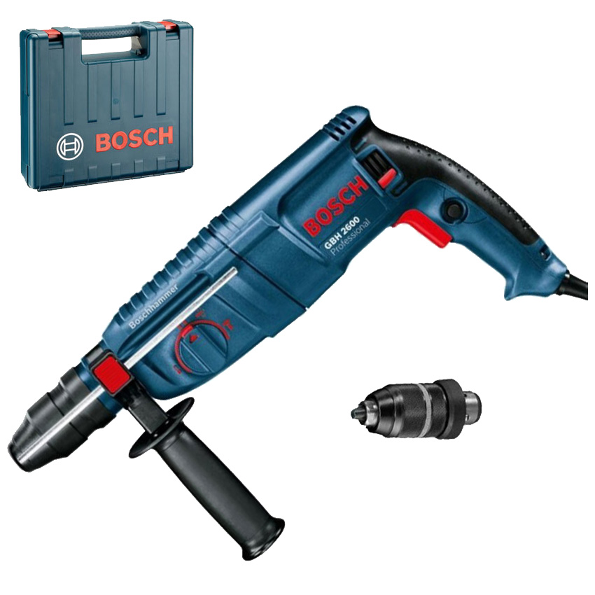 BOSCH GBH 2600 Professional Ciocan rotopercutor SDS-plus 720 W 2,5 J 0611254803