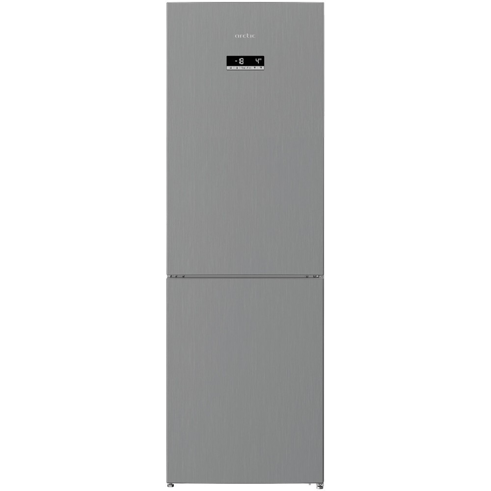 Combina frigorifica Arctic AK60366NFEMT++, 324 L, Full No Frost, Metal Look, A