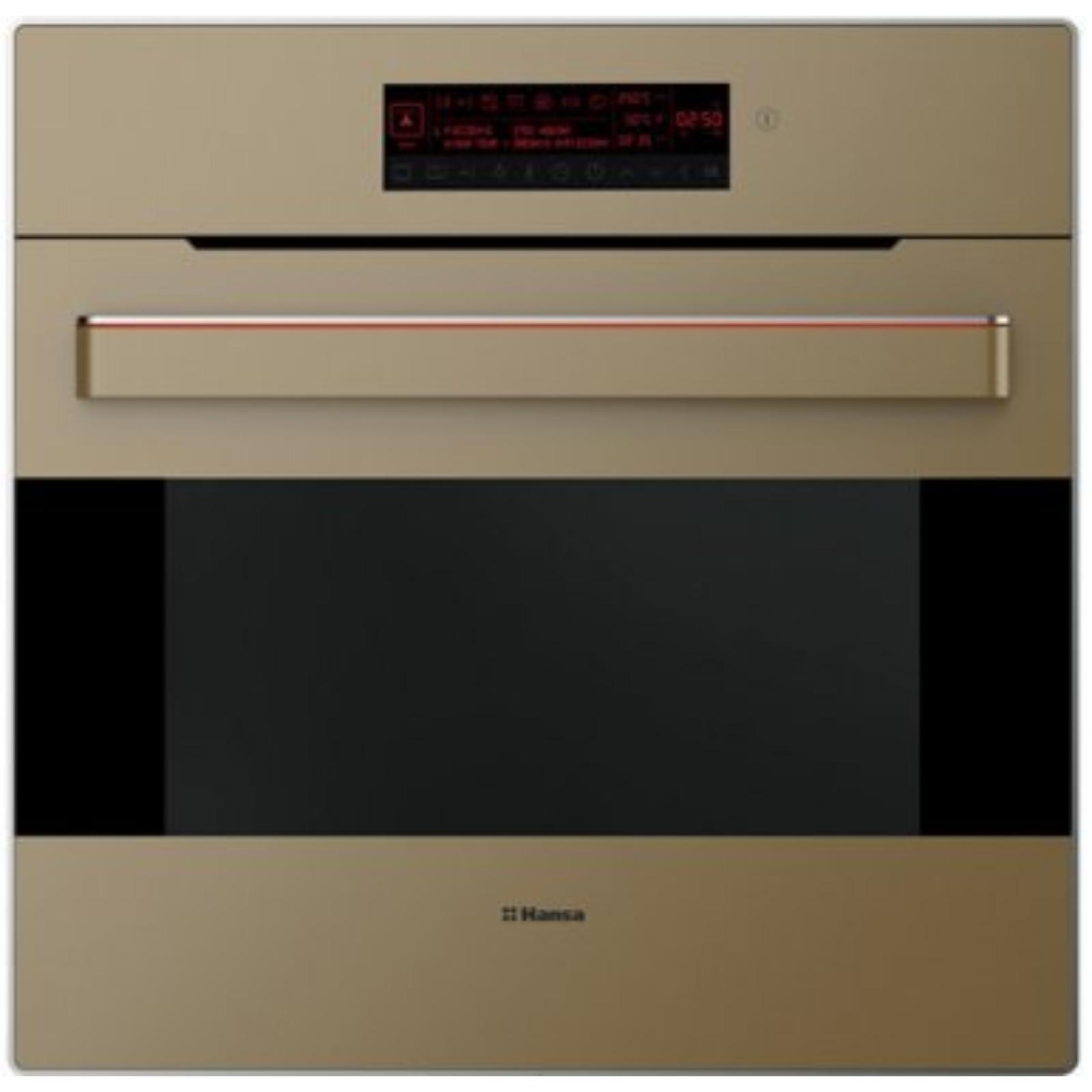 Cuptor incorporabil Hansa BOEB696010, grill, 66l, bej