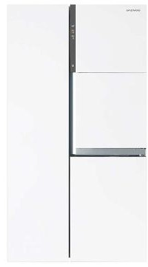 Combina frigorifica Side by Side Daewoo FRS-T30H3, 780l, Alb
