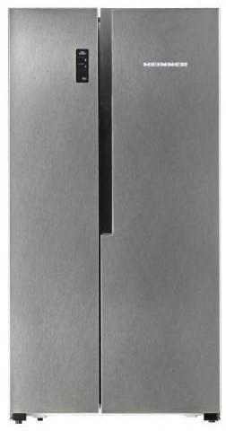 Combina frigorifica Side By Side Heinner HSBS-520NFX+, 516l, Inox