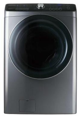 Masina de spalat/uscat rufe Daewoo DWC-PD1213, 12kg, Argintiu