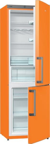 TRANSPORT GRATUIT-Combina frigorifica Gorenje RK6192EO, A++, Portocaliu