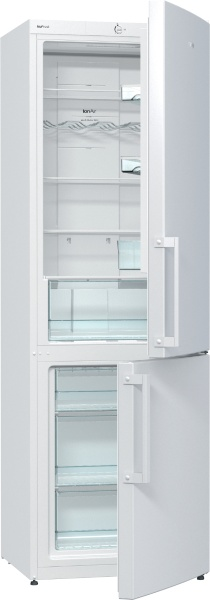 Combina frigorifica Gorenje NRK6191CW, A+, Alb