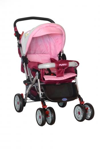 Carucior baby DHS 7708 cu poseta pentru mame