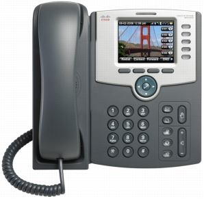 Telefon fix Cisco 5 Line IP SPA525G2