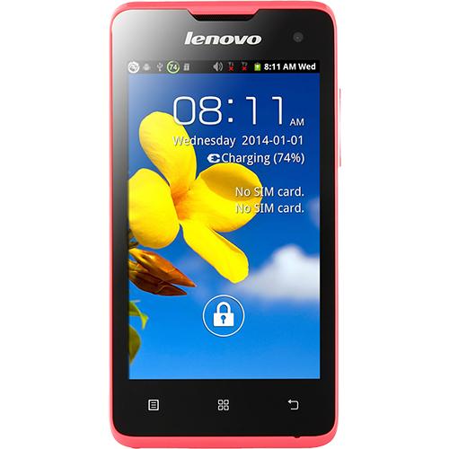 Telefon mobil Lenovo A396 Dualsim 3G Roz