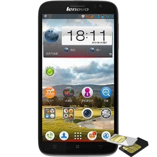 Telefon mobil Lenovo A850 Dualsim 4GB 3G Negru