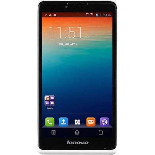 Telefon mobil Lenovo A889 Dualsim 8GB 3G Alb