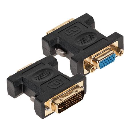 LICHIDARE STOC - ADAPTOR DVI-I TATA (24+5) - VGA MAMA GOLD ZLA0860