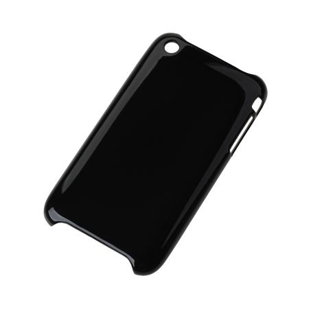 BACK COVER CASE IPHONE 3G/3GS NEGRU ML0165