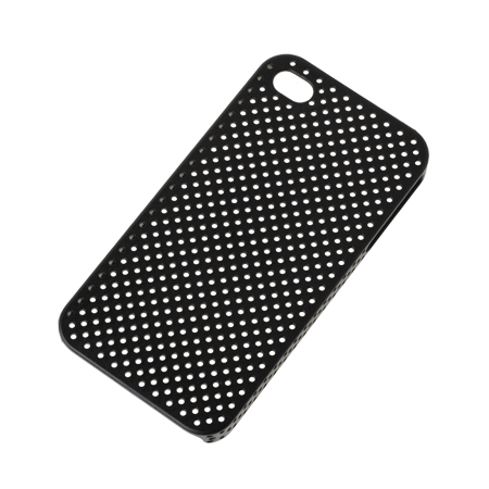 BACK COVER CASE IPHONE 4 NEGRU SITA ML0159