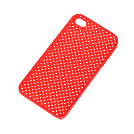 BACK COVER CASE IPHONE 4 ROSU SITA ML0160