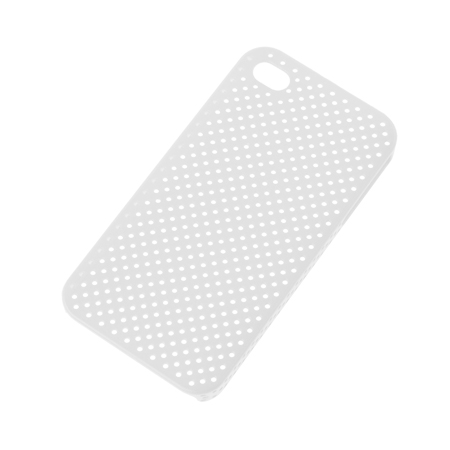 BACK COVER CASE IPHONE 4 TRANSPARENT SITA ML0161