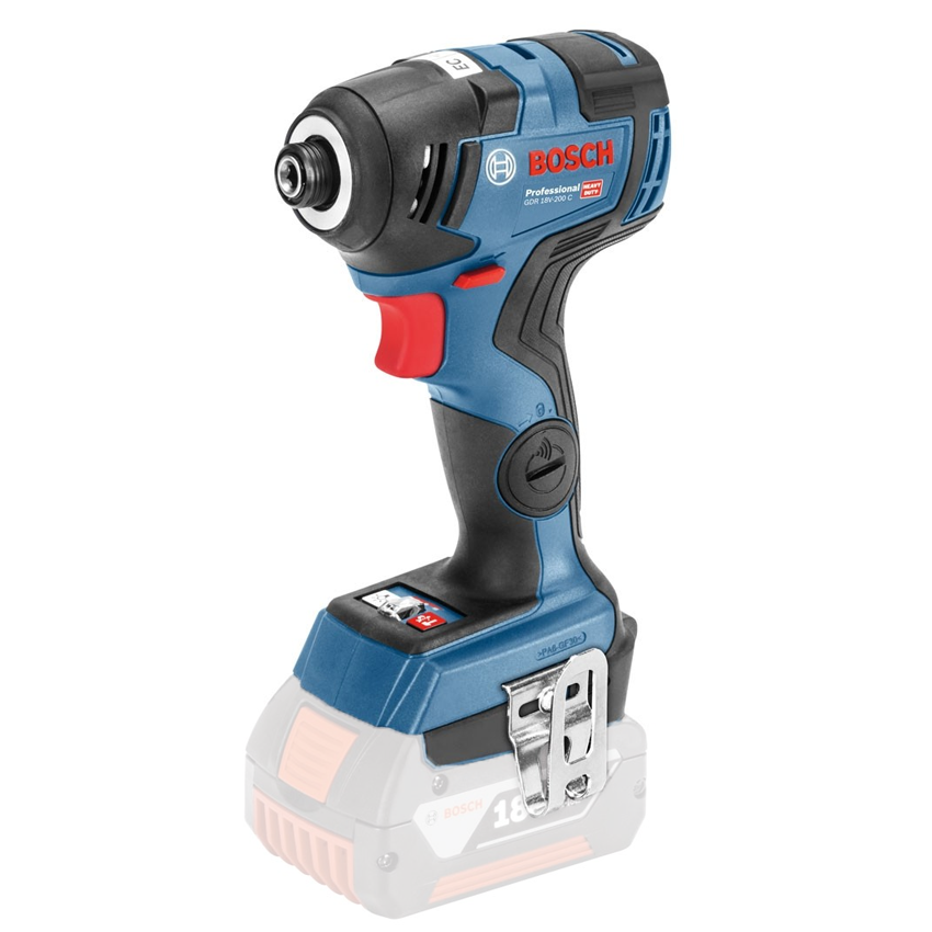 BOSCH GDR 18V-200 C (SOLO) Surubelnita cu impact brushless, Li-Ion, 200Nm, fara acumulator in set 06019G4104