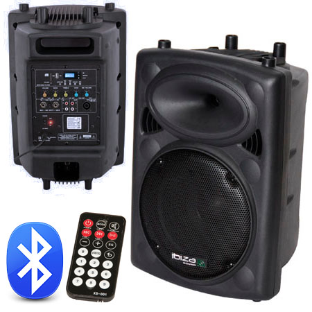 BOXA ACTIVA 10 inch/25CM USB/MP3/BT TELECOMANDA SLK10A-BT