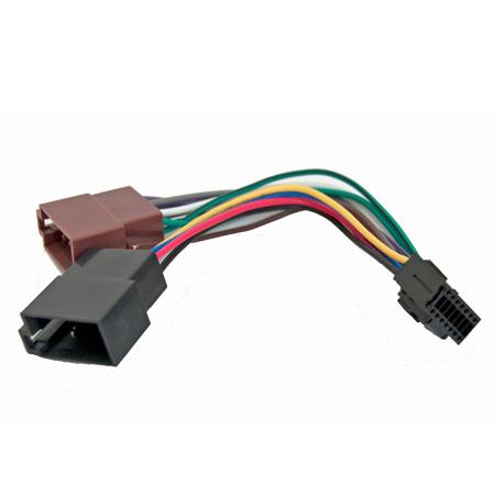 CONECTOR KENWOOD KRC-256/JVC 2011-->ISO-19561 ZLA0738