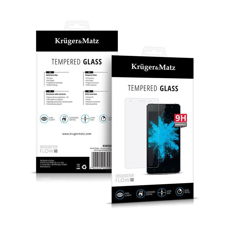 FOLIE TEMPERED GLASS FLOW 5 KRUGER&MATZ KM0089