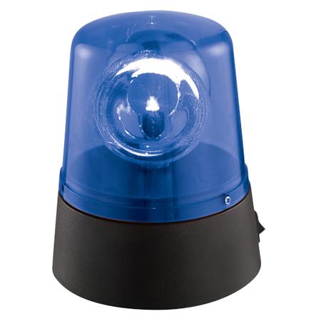 LICHIDARE STOC- GIROFAR MINI LED POLICE LIGHT ALBASTRU JDL008B-LED