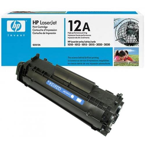 Toner HP LaserJet negru Q2612A