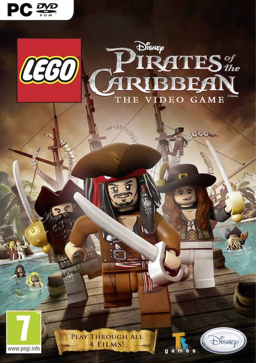 JOC PC LEGO Pirates of the Caribbean, Disney, BVG-PC-LEGOPOTC