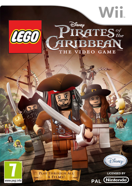 JOC Wii LEGO Pirates of the Caribbean, Buena Vista, BVG-WI-LEGOPOTC
