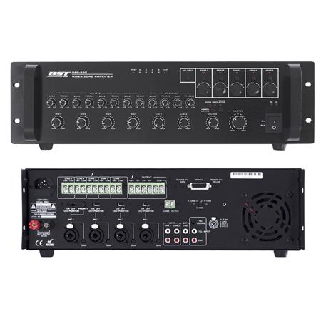 MIXER CU AMPLIFICARE 100V 240W 5 ZONE +SIRENA UPC350