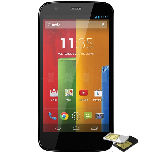 Telefon mobil Motorola Moto G 8Gb Dualsim Negru