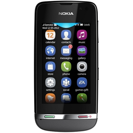 Telefon mobil Nokia Asha 311 Gri 57810