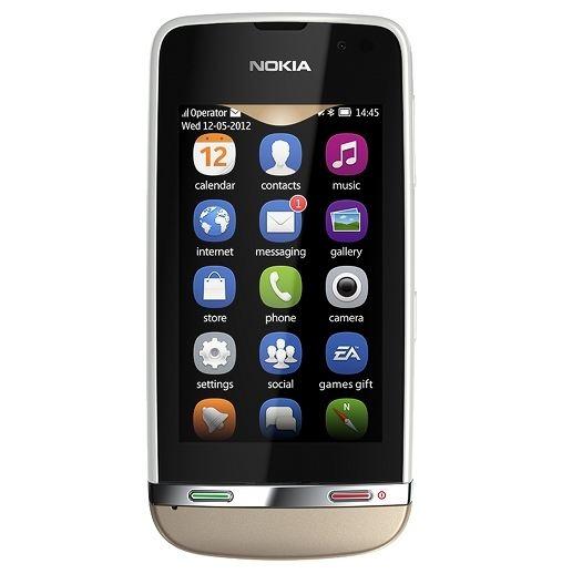 Telefon mobil Nokia Asha 311 Alb