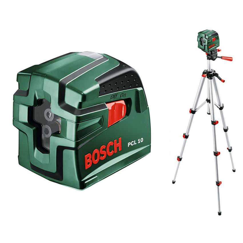 BOSCH PCL 10 Nivela laser cu linii + Stativ Nivela laser cu linii + Stativ constructii 0603008121