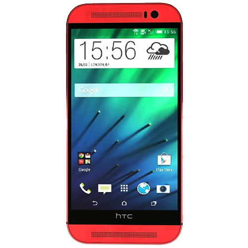 Telefon mobil HTC One M8 16GB Rosu