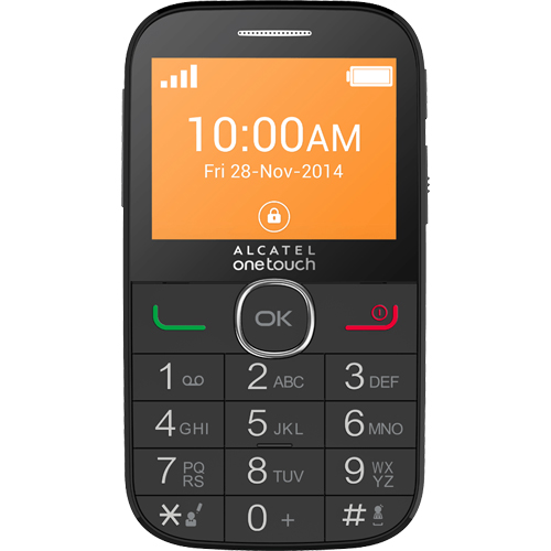 Telefon mobil Alcatel One Touch 2004C Negru