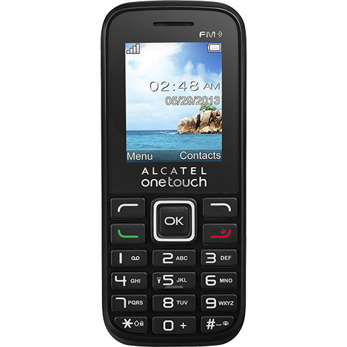 Telefon mobil Alcatel Ot-1042 Negru