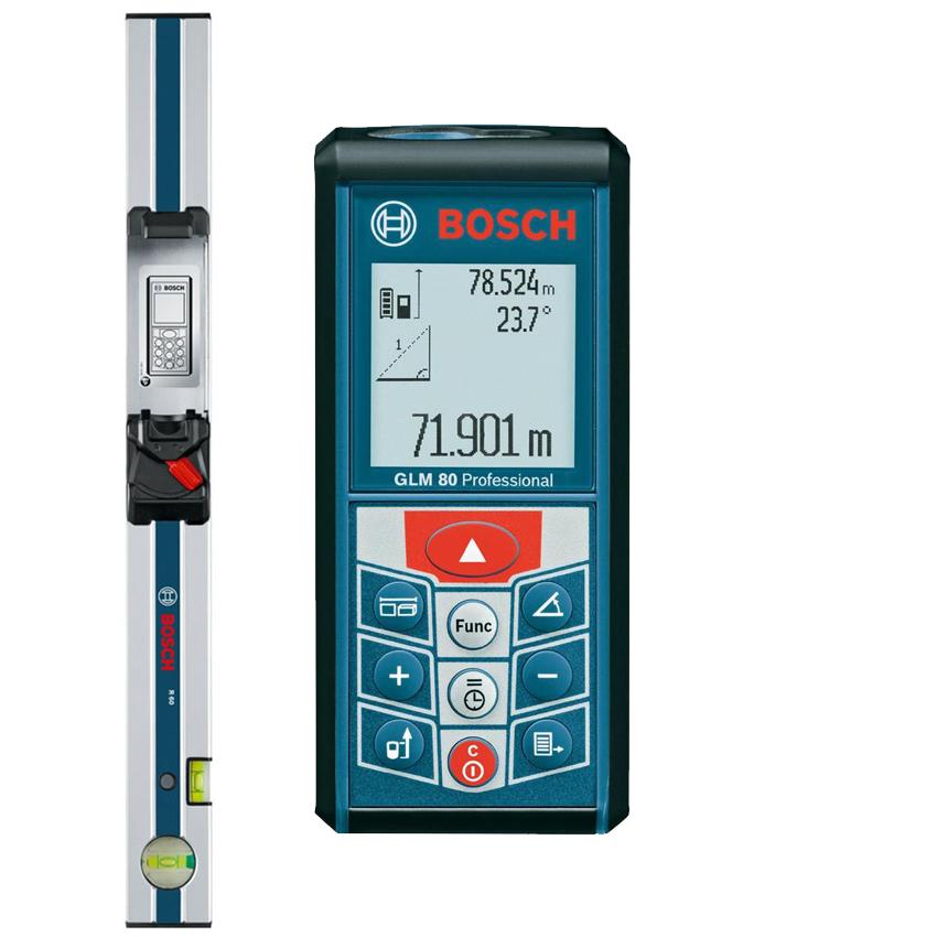 BOSCH GLM 80 + R 60 Telemetru cu laser (80 m) + Tija 0601072301
