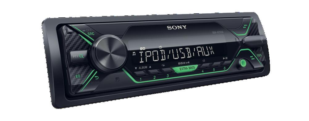 Receptor media digital fara CD-1DIN Sony DSXA212UI