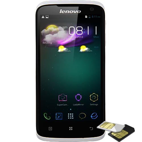 Telefon mobil Lenovo S820 Dualsim 4GB 3G Alb