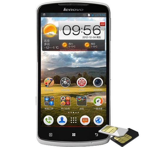 Telefon mobil Lenovo S920 Dualsim 4GB 3G Alb