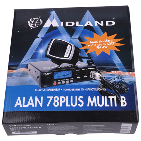 STATIE CB ALAN 78 PLUS MULTI AM/FM URZ0549
