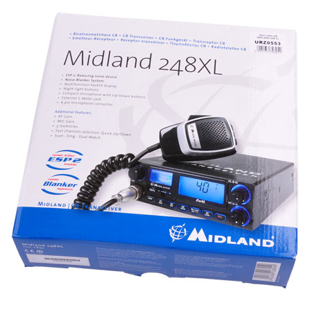 STATIE RADIO CB ALAN 248 XL URZ0553