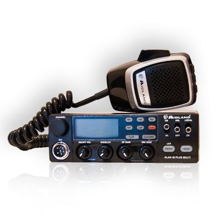 STATIE RADIO CB ALAN 48 PLUS MULTI URZ0544
