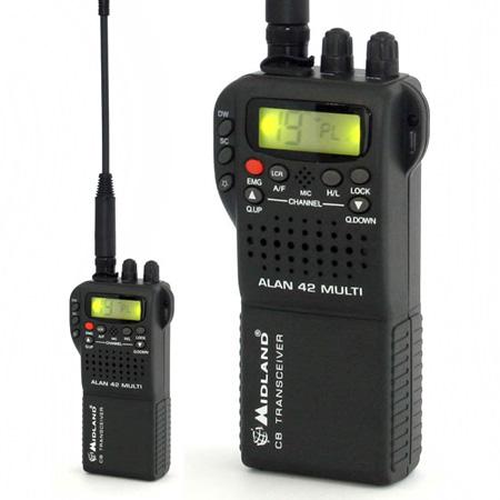 STATIE RADIO CB PORTABILA ALAN 42 MULTI URZ0554