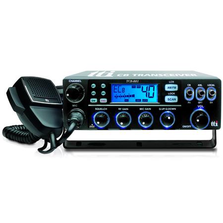 STATIE RADIO CB TCB-8811 12/24V ASQ AM/FM URZ0764