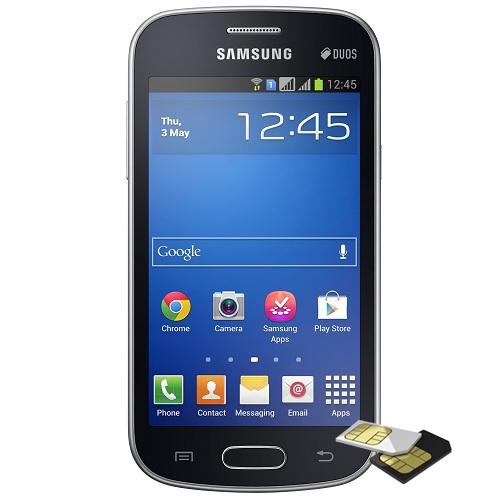 Telefon mobil Samsung Galaxy Trend Duos S7392 Negru