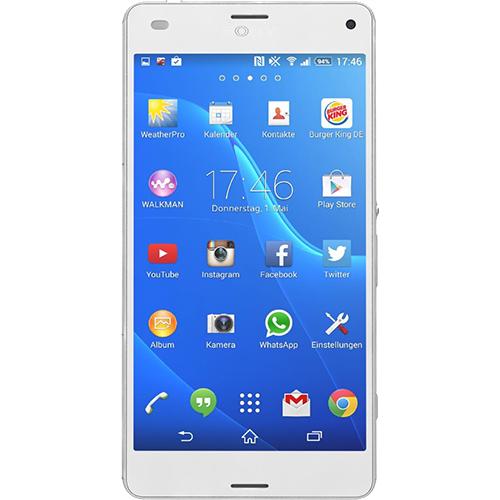 Telefon mobil Sony Xperia Z3 Compact 16GB Lte 4G Alb