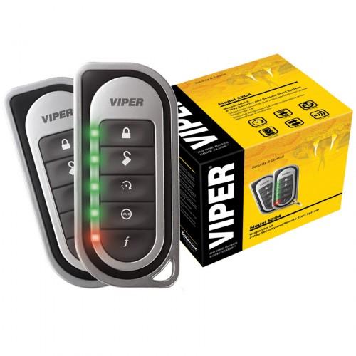 Alarma auto cu pornirea motorului din telecomanda Viper 5701