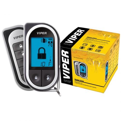 Alarma auto cu pornirea motorului din telecomanda Viper 5704